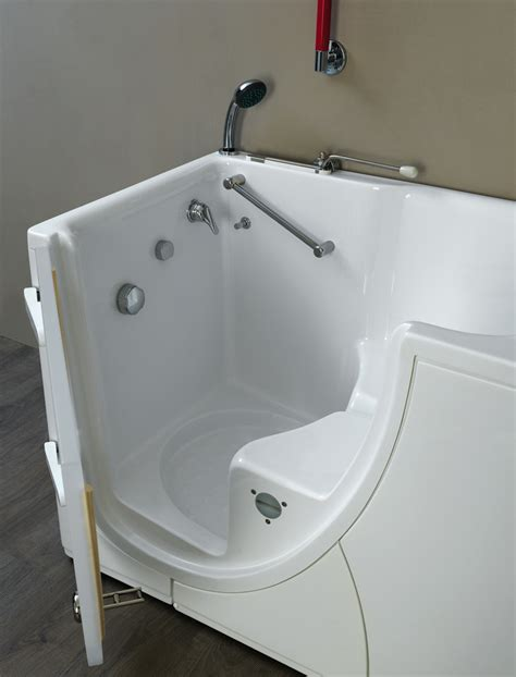 bathtub with door walk in tub walk in bathtub with internal opening door for disabled