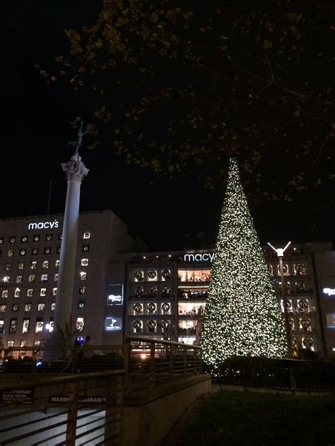 union square tree lighting 2017 2017 san francisco holiday events roundup hoodline