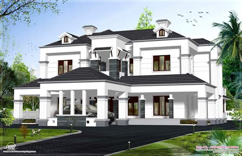 model house exterior kerala home design and