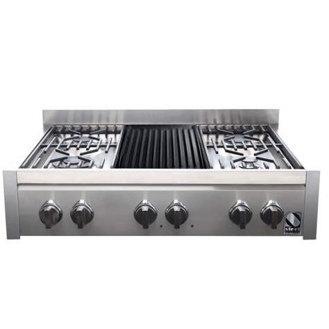 piano cottura da appoggio piano cottura da appoggio steel cucine serie genesi 90 g9
