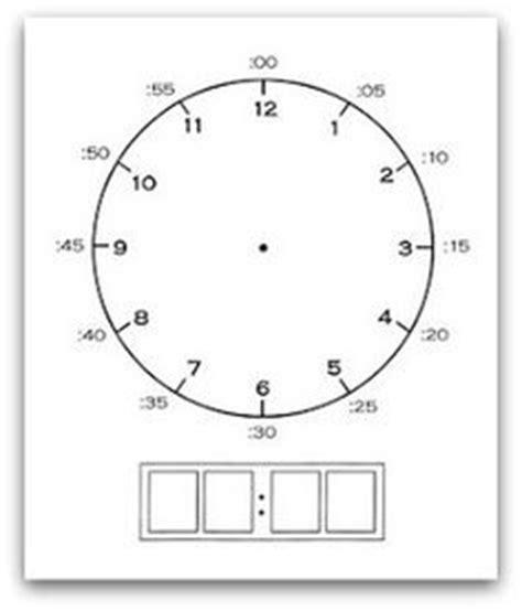 printable clock manipulative 1000 images about teaching kids on pinterest homeschool