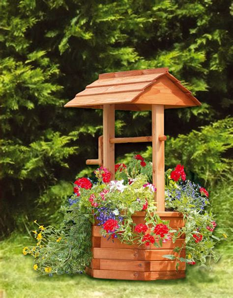 wishing well planters plans 187 plansdownload