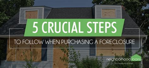 steps to follow when buying a house what you need to know about buying a foreclosed home