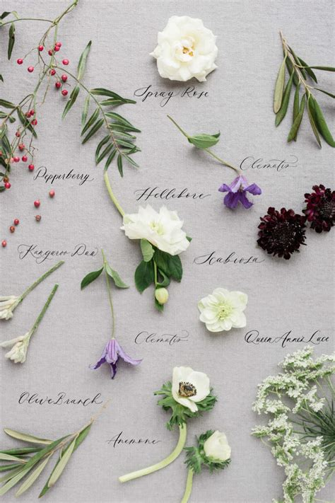 flowers by color types of wedding flowers by colour elegantwedding ca