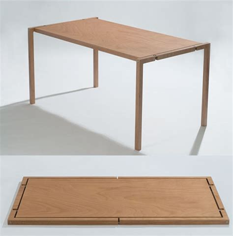 minimal table design the ultimate folding table