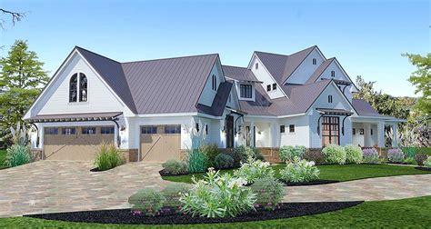 elegant farmhouse home plan 92355mx architectural crystal falls modern farmhouse floor plan david e