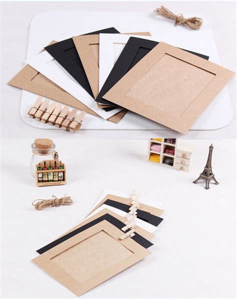 Paper Frames - buy wholesale 5x7 paper photo frames from china 5x7