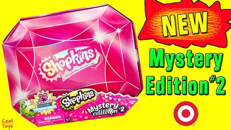 Shopkins Original Mystery Edition 2 shopkins mystery edition 2 target exclusive reveal cooltoys