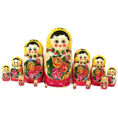 nesting doll russian matrioshkas nested dolls