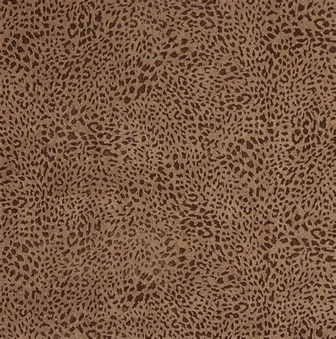 leopard upholstery fabric caramel brown small leopard cheetah pattern microfiber