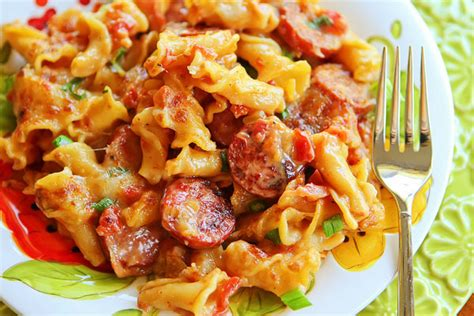 pasta sausage riches to rags by dori spicy sausage pasta
