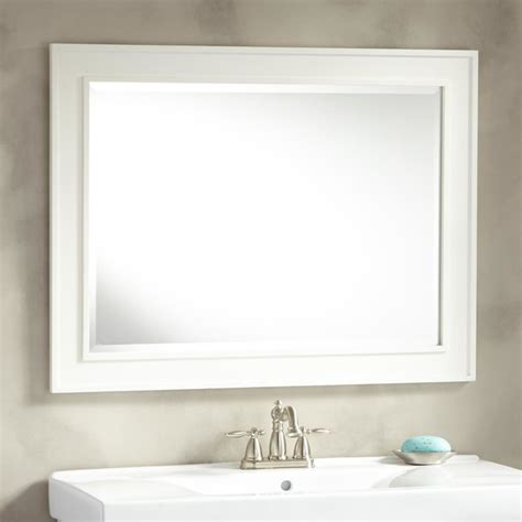 manhattan vanity mirror transitional bathroom mirrors