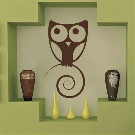 trendy wall design cute owl wall art design trendy wall designs