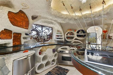 flintstone house inside the flintstone house more spectacular photographs curbed sf