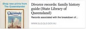 Queensland Divorce Records Family History Month 2015 On Social Media Travelgenee