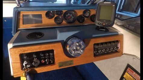 youtube boat gps custom boat dashboard 2 built in gps youtube