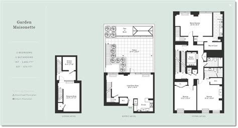 maisonette floor plan upper west side triplex staged archives amazing space