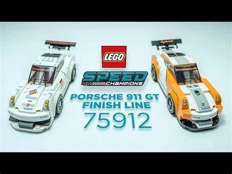 Trand Lego 75912 Porsche 911 Gt Finish Line Speed Chions Bds051 lego speed chions 75912 pas cher porsche 911 gt finish line
