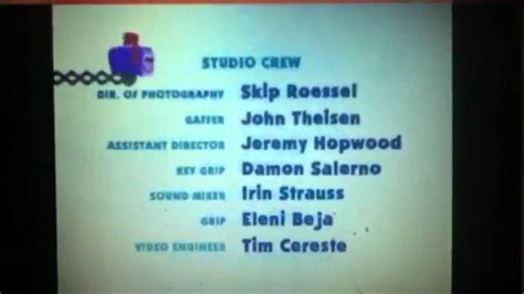 blue credits blues clues credits