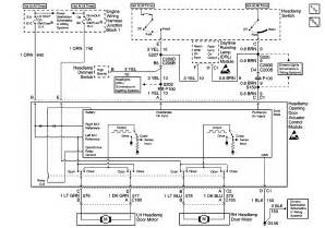 headlight wiring diagram ls1tech camaro and firebird forum discussion