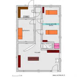 Garage With Loft Plans Institut De Beaut 233 Plan 5 Pi 232 Ces 65 M2 Dessin 233 Par Nala06