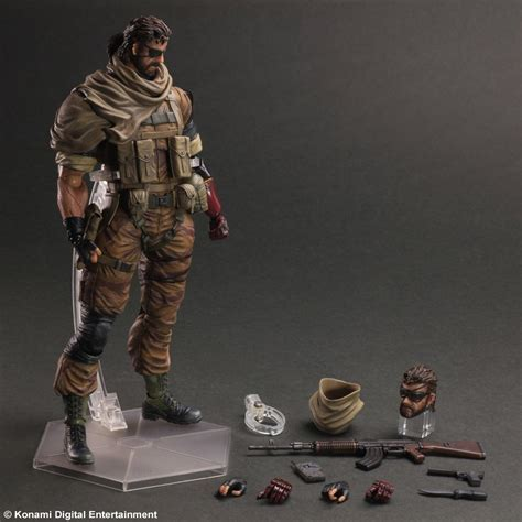 Metal Gear Solid Phantom Venom Snake Play Arts two new metal gear solid v play arts venom snake