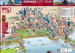 Chicago Bus Map by Chicago Hop On Hop Off Bus Tours And More Free Tours By Foot