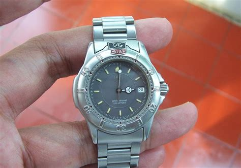 Jam Tangan Tag Heuer Abu Abu T05 jam tangan for sale tag heuer 4000 grey quartz sold