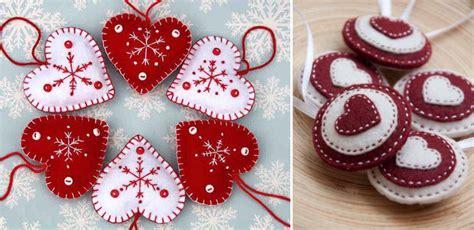 Handmade La - decoratiuni handmade din fetru pentru craciun idei diy