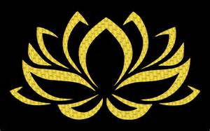 Lotus Sign Clipart Golden Lotus Flower 3