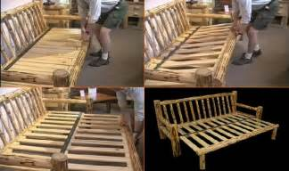 How To Build A Futon Sofa Bed Build Your Own Futon Frame