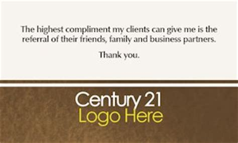 business card template using century font century 21 business cards design and printing