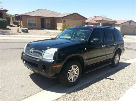 automobile air conditioning repair 2004 mercury mountaineer security system find used 2004 mercury mountaineer premier sport utility 4 door 4 6l awd limited leather in