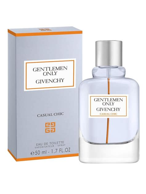 Parfum Only gentlemen only casual chic givenchy cologne a new