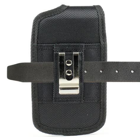 Universal Vertical Beltclip 5 2 Inch universal vertical extendable pouch durable velcro holster belt clip ebay