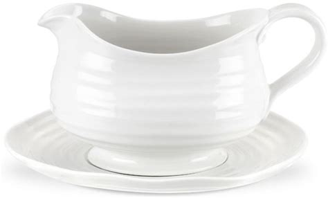 sophie conran gravy boat portmeirion sophie conran white gravy boat and stand