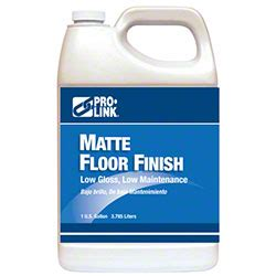 Matte Floor Finish by Pro Link 174 Matte Floor Finish Gal Clean Innovations