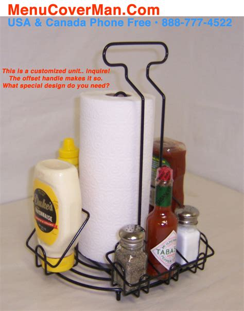 restaurant table top paper towel holder restaurant condiments holder