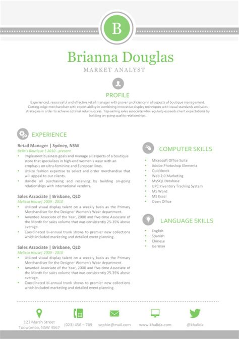 Resume Templates For Mac Word Apple Pages Instant Download Mac Pages Templates