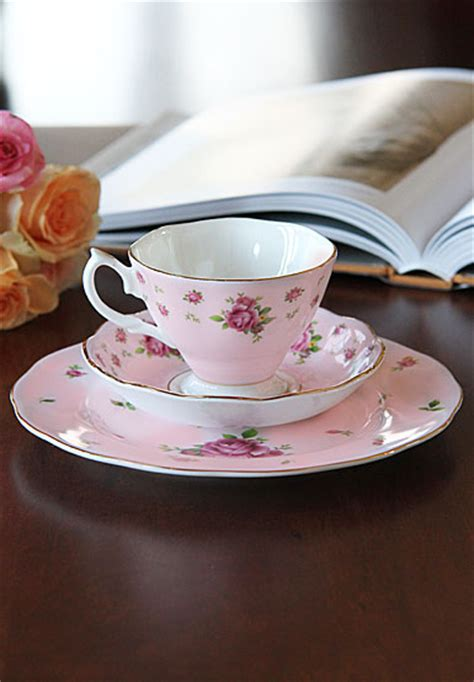 Teacup New Country royal albert china new country roses pink 3 set