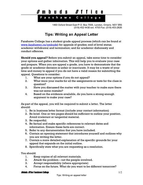 College Application Appeal Letter appeal letter for college russianbridesglobal