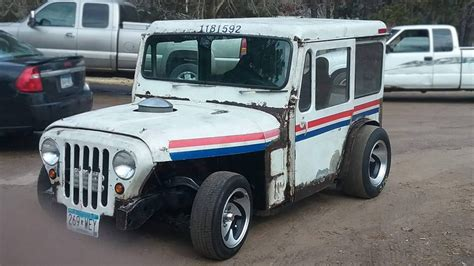 jeep mail van haulin mail 1971 jeep dj custom