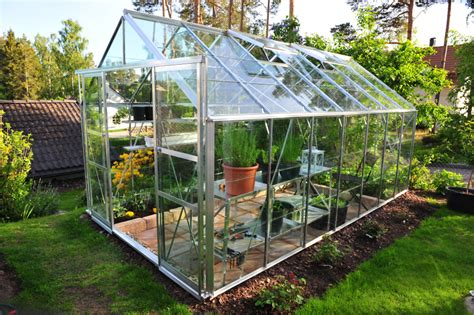 small backyard greenhouse horticultural brownhills glass