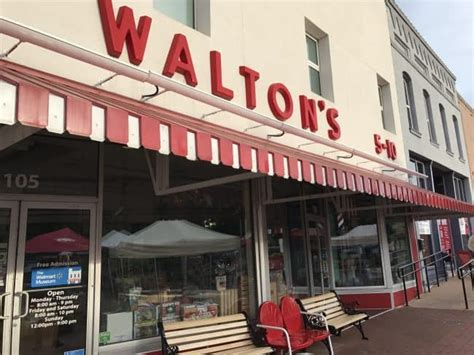 sam walton s first five and dime store in bentonville 3 days in nw arkansas things to do in bentonville ar