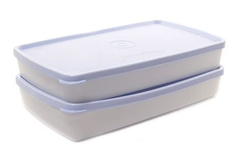 Tupperware Small Crispy Storer 2pcs tupperware cool n fresh flat 2 pcs at best prices shopclues shopping store