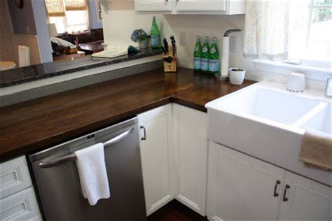 Laminate Butcher Block Countertops by Updating Your Kitchen Counters On A Budget Home Stories
