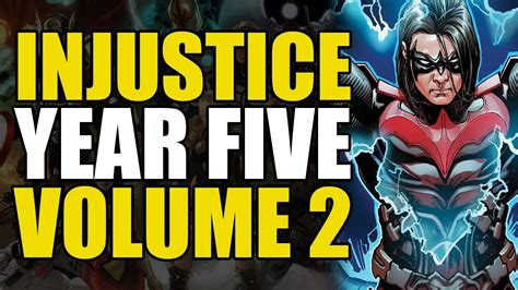 injustice gods among us year five vol 3 how damian wayne became nightwing injustice gods among us