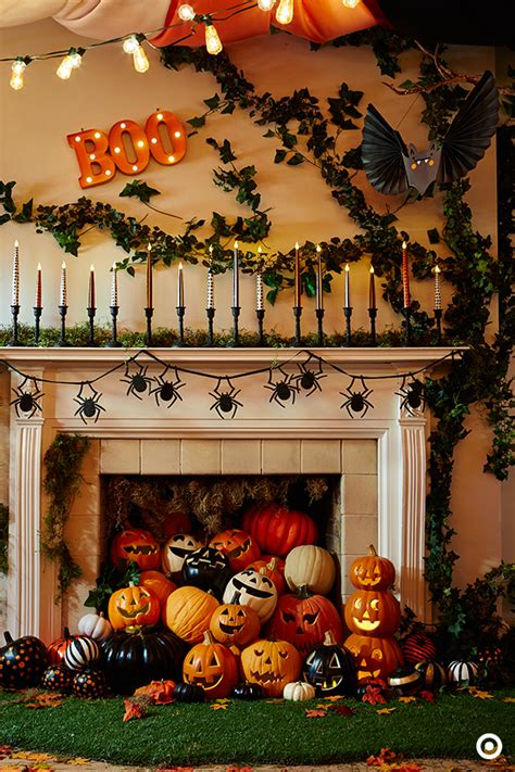 great decorating ideas picture of great halloween mantel decorating ideas