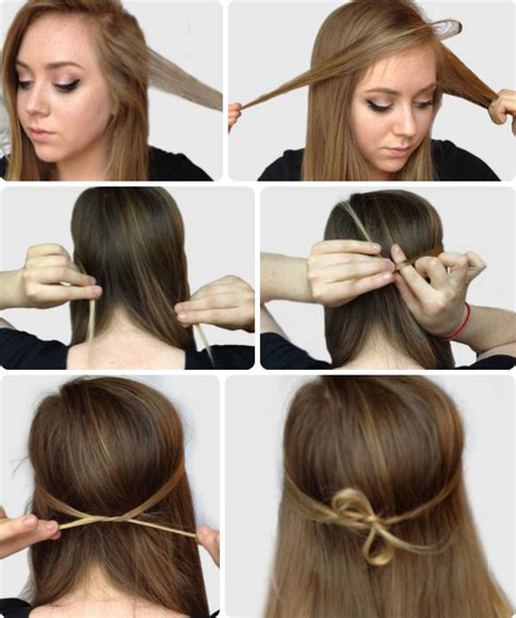 college hairstyles step by step 6 super easy hairstyles for finals week easy hairstyles