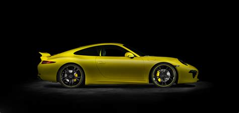 yellow porsche side view porsche cars and design store guide porsche mania